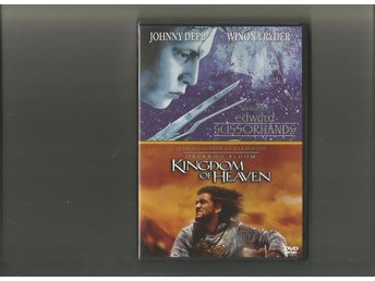 EDWARD SCISSORHANDS - KINGDOM OF HEART - DVD BOX