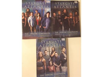 STARGATE ATLANTIS THE OFFICIAL COMPANION SÄSONG 2,3,4. !!!!!!!!