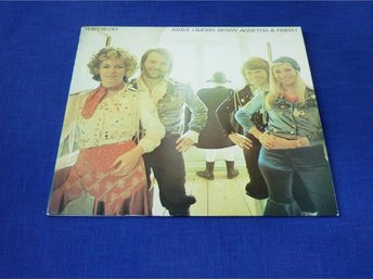 "ABBA (Björn,Benny,Agnetha & Frida: LP, ""WATERLOO"""