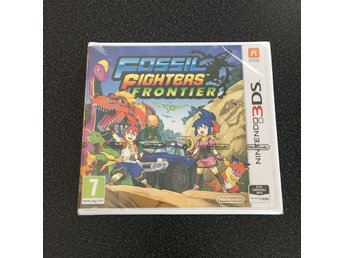 Fossil Fighters Frontier - 3DS - Hisings Kärra - Fossil Fighters Frontier - 3DS - Hisings Kärra