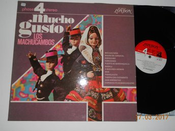 LOS MUCHOCAMBOS - Mucho Gusto, London PHASE 4 STEREO USA