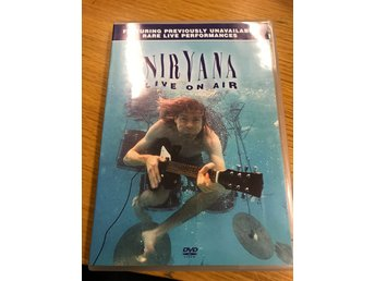 Nirvana Live On Air dvd