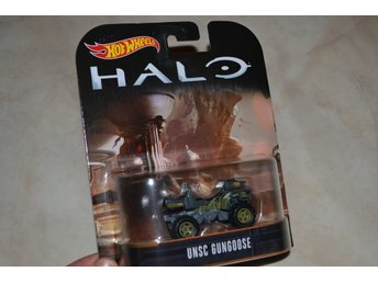 UNSC Gungoose HALO ca 1:64 Hot Wheels Presentbox Hög Kvalitet Ny