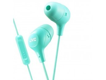 JVC Hörlur Marsmallow In-Ear Mic Grön