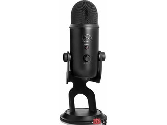 Microphones Yeti Blackout