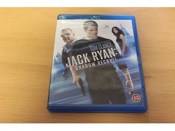 Blu-ray: Jack Ryan: Shadow recruit (Chris Pine, Keira Knightley)