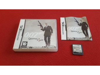 007 QUANTUM OF SOLACE till Nintendo DS NDS