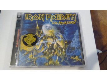 2 CD IRON MAIDEN. LIVE AFTER DEATH.
