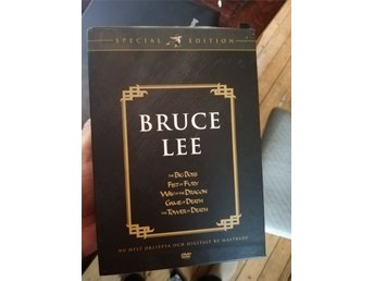 BRUCE LEE DVD box set special edition - 5 filmer