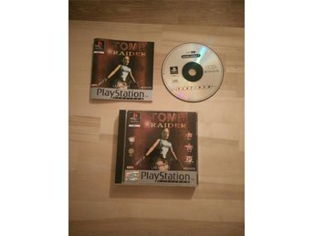 Tomb Raider -Playstation / PSone / PS1 / PSX - PAL