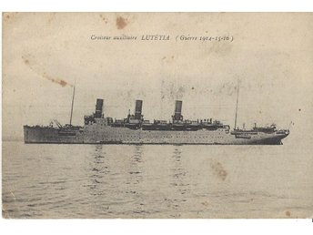"French Auxiliary Cruiser "" LUTETIA """