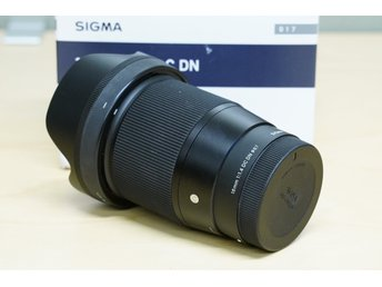 Sigma 16mm F1.4 DC DN Prime Lens for Sony E Mount.