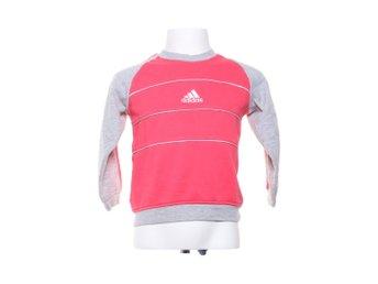 adidas tröja grå rosa