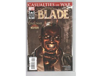 Blade #5 - Casualities of War - Civil War Tie-In