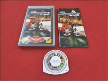 MIDNIGHT CLUB 3 DUB EDITION till Sony PSP