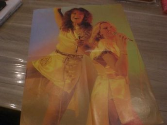 ABBA Double Sized Poster Rare