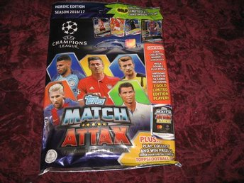START PAKET CHAMPIONS LEAGUE 2016-2017 MATCH ATTAX NY INPLASTAD