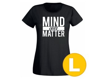 T-shirt Mind Over Matter Svart Dam tshirt L