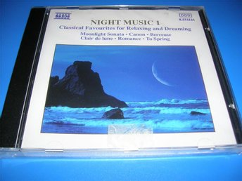 NIGHT MUSIC 1 - naxos - mozart,bach,grieg,faure,godard  (cd)