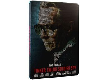 Tinker, Tailor, Soldier, Spy (Limited STEELBOOK) DVD & Blu-ray - Gary Oldman