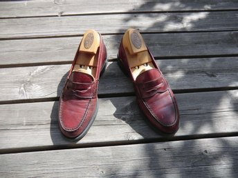 Pennyloafers från Russell & Bromley i storlek 41,5