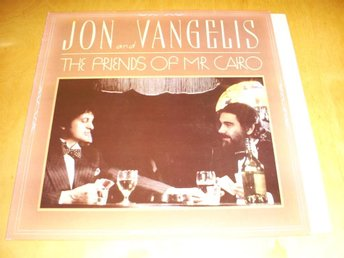 Jon And Vangelis - The Friends Of Mr. Cario LP 1981