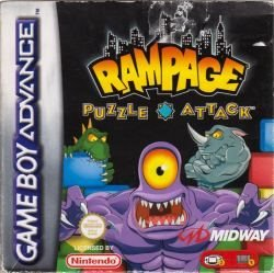 GBA - Rampage: Puzzle Attack (Komplett) (Beg)