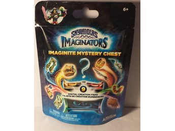 Skylanders imaginators imaginite mystery chest oöppnad blå påse