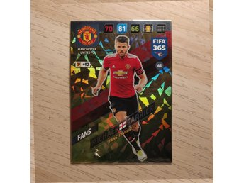 Michael Carrick - Manchester United - Panini FIFA 365 - 2018 *FANS' FAVOURITE*