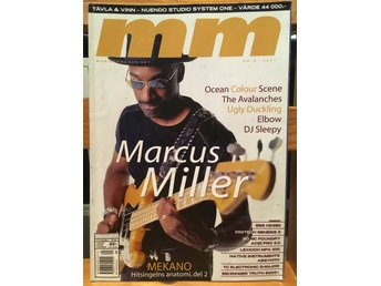 Musikermagasinet MM. Nr. 9, september 2001. Marcus Miller m.fl.
