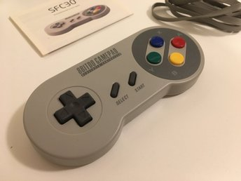 8bitdo SFC30 Bluetooth Gamepad (Retro)