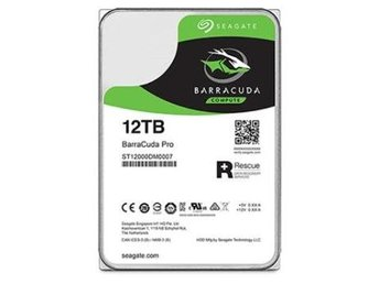 "Seagate BarraCuda PRO Desktop HDD 3,5"" 12TB, 256MB, 7200RPM"