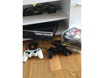 Playstation 3 + 9 spel