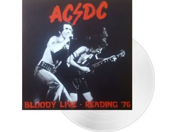 Ac/dc -Bloody live Reading 1976 lp white vinyl ltd 175 copie