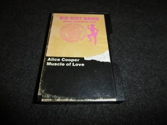 Alice Cooper - Muscle of love - Kassettband - 1973