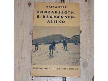 Karta Riksgransen Abisko.Karta Over Rombaksbotn Riksgransen Abisko 345254261 ᐈ Tsarix Pa