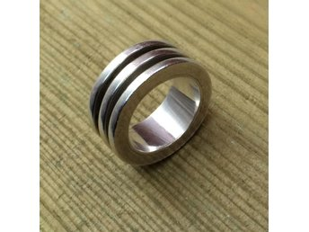 Tung silverring / spin ring