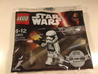 LEGO - Minifigur! Star Wars, First Order Stormtrooper, ny (A)