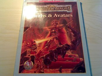 Ad&d forgotten realms faiths & avatars dungeons and dragons
