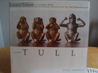 JETHRO TULL Steel monkey Lim. edition