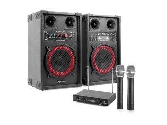"""Karaoke-anläggning """"STAR-Mitte"""" PA, högtalare, trådlös mikrofon 400W - Berlin - Karaoke-anläggning """"STAR-Mitte"""" PA, högtalare, trådlös mikrofon 400W - Berlin"""