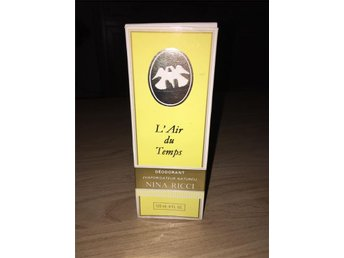 Nina Ricci L'air du Temps 120ml deodorant vaporisateur naturel