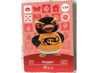 Animal Crossing amiibo kort Series 2 179 Hopper