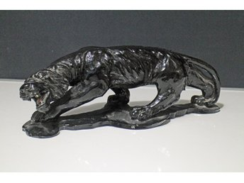 PANTER/TIGER SKULPTUR METAL