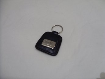 Nyckelring Amati Portugal i svart läder keychain & keyring leather black