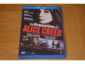 The Disappearance Of Alice Creed ( Gemma Arterton ) DVD + Bluray Blu-Ray