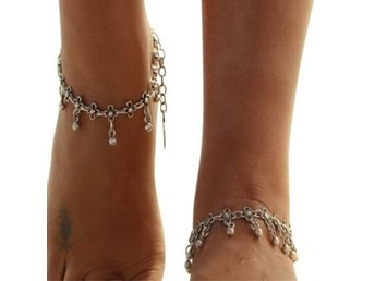 Bohemian Moonflower Anklet-Fotlänk