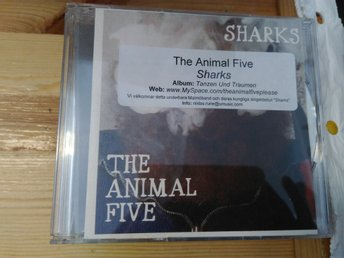 The Animal Five - Sharks, CD