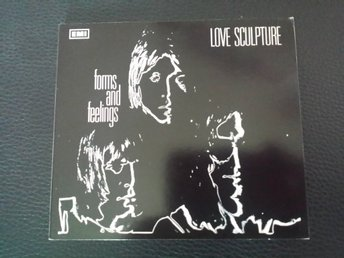 Love Sculpture - Forms and feelings. Cd digipack i nyskick.