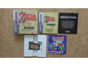 GBA/Game Boy Advance: Zelda: A Link to the Past Four Swords (svensksålt)
